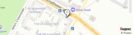 СТС на карте Темиртау