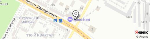 Банкомат, БТА Банк на карте Темиртау