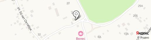 Чернолучье на карте Чернолучья