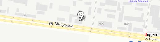 Энергомонтажстрой-А.К., ТОО на карте Темиртау