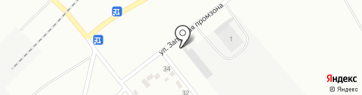 Автосель, ТОО на карте Караганды