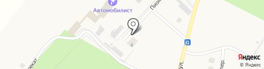 Продуктовый магазин на карте Чернолучья