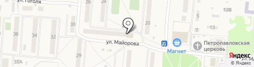 Движение на карте Лузино