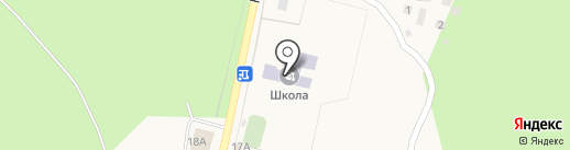 Чернолученская средняя общеобразовательная школа на карте Чернолучья