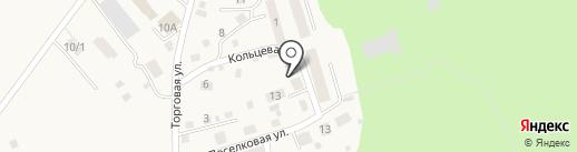 Место у Бора на карте Чернолучья