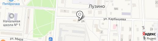 Qiwi на карте Лузино