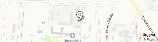 Лузинское на карте Лузино