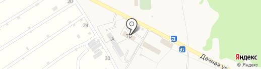 Автомагазин на карте Лузино