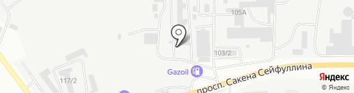 У Ольги на карте Караганды