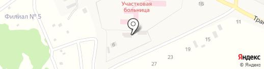 Деревообрабатывающее предприятие на карте Лузино