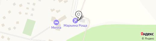 Марьина Роща на карте Чернолучья