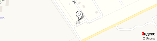 Чернолучинский на карте Чернолучья