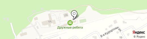 Дружные ребята на карте Чернолучья