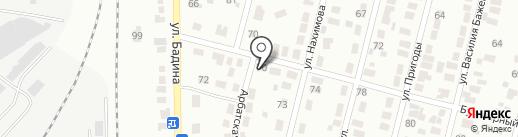 Ветеринарная клиника на карте Караганды