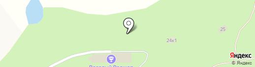 Сосновый бор на карте Чернолучья