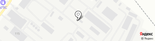 Трубодеталь, ТОО на карте Караганды