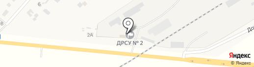 ДРСУ №2, ГП на карте Петровки