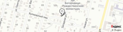 КазСтройМарт 2050 на карте Караганды