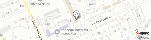 AVANGARD на карте Караганды