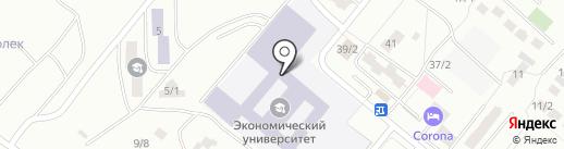 Карагандинский экономический университет Казпотребсоюза на карте Караганды