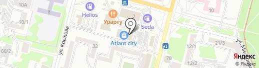 ПолиВест на карте Караганды