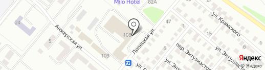 Счастливая минутка на карте Караганды