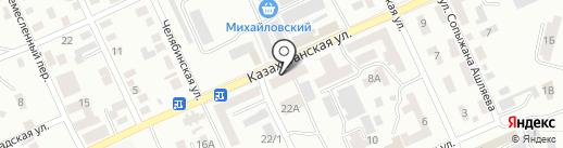 Мастерская по изготовлению памятников на карте Караганды