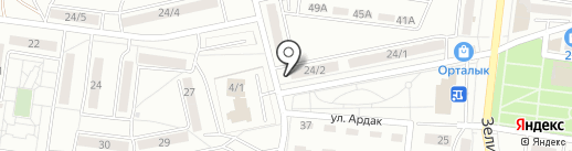 Налог-Сервис на карте Караганды