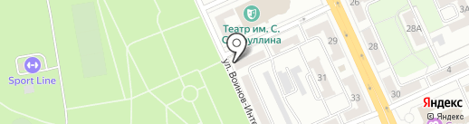 LOFT на карте Караганды