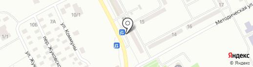 Магазин по продаже сотовых телефонов на карте Караганды