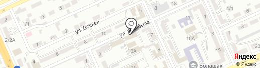 Департамент Юстиций Карагандинской Области на карте Караганды