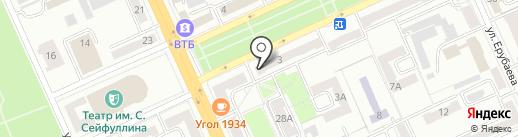 Petersburg на карте Караганды