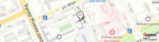 Карагандинский политехнический колледж на карте Караганды