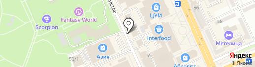 Ателье на карте Караганды