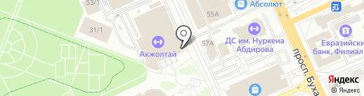 Men`s hat на карте Караганды