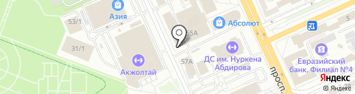 Нотариус Смирнова И.А. на карте Караганды
