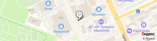 Reni Kazahstan на карте Караганды