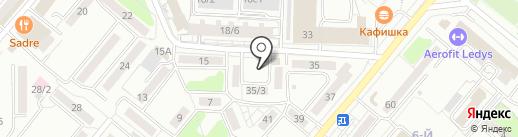 Мастерская по ремонту обуви на карте Караганды