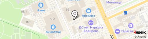 PariMatch на карте Караганды