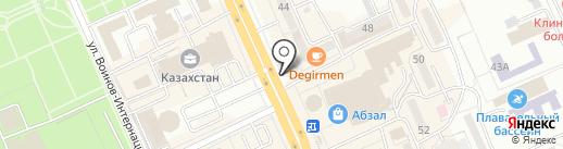 PROFIT на карте Караганды