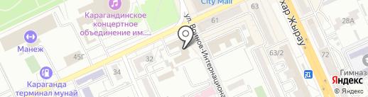 Агентство недвижимости на карте Караганды