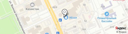Церковная лавка на карте Караганды