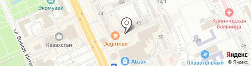 Аренда Караганда на карте Караганды
