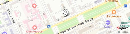 Автоломбард на Бульваре, ТОО на карте Караганды
