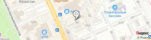 Пельменная на карте Караганды