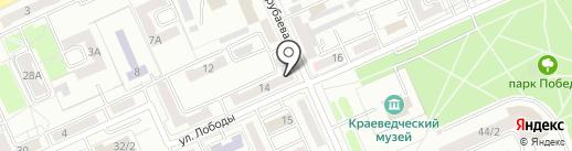 Ханбит Нано Медикал на карте Караганды