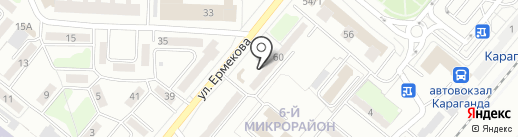 Radist.kz на карте Караганды