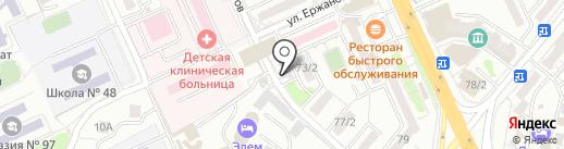 Компания по продаже и установке автостекол на иномарки на карте Караганды