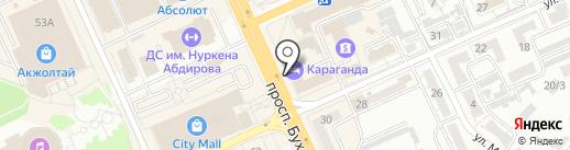 Milavitsa на карте Караганды