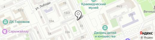 IVIDEO на карте Караганды